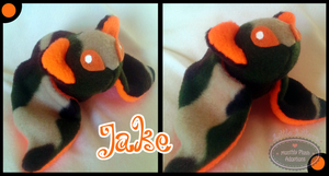 Little Litters - Jake - Plush by Sparkle-And-Sunshine
