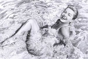 Esther Williams by MLS-art