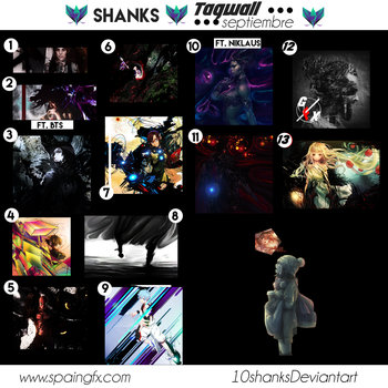 Tagwall septiembre by 10shanks