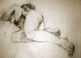 Figure drawing : Feb 12ish by megalaros