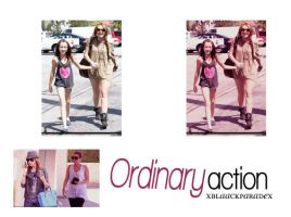 Ordinary Action by xblaackparadex