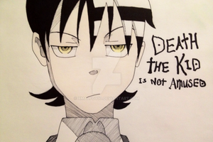 Soul Eater - Death The Kid Is Not Amused. by xMalfoy97
