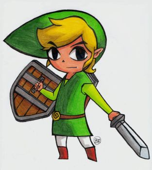 Toon Link by Monet-55