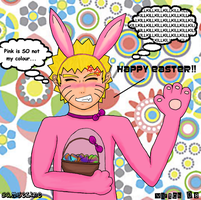 Easter Naruto 08 by Bamseline