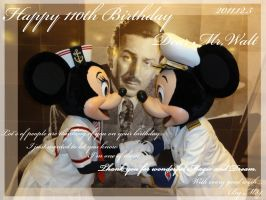 Happy 110th Birthday Mr,Walt by hat-M84