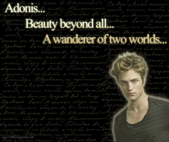 Robert Pattinson as Adonis by Maewolf86