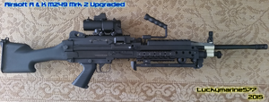 Airsoft M249 Mrk2 by Luckymarine577