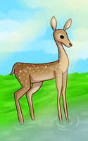 Deer by PineMelons