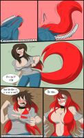 The Purrrrrfect Transformation _Cat Girl TG Page 6 by TFSubmissions