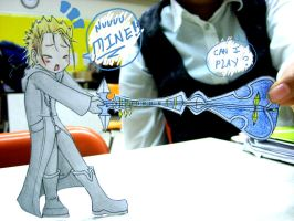 Demyx: But it'z MY Sitar D': by Azurith