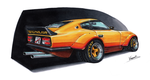 Datsun 240Z Super Yankee by vsdesign69