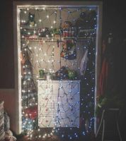 Christmas Closet by Mikibaby94