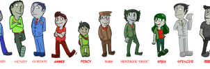 Humanizing Thomas and Friends by RKPiratedrawer