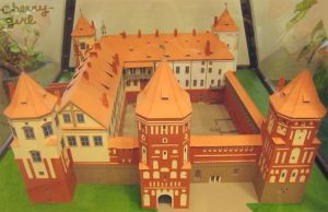 Scale model of Mir Castle Complex. by cherrygir1