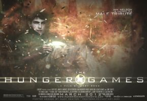 District 3 Male HG Poster by heatona
