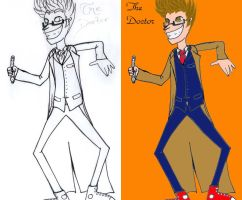 Doctor Who - Butch Hartman 10 by Rabenstolz