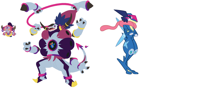 Louis as Twilight Hoopa (Confined+Unbound) by pokekid333