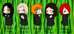 The Young Death Eaters by muffinpoodle