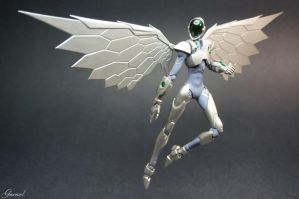 Silver Crow - Accel World by Garivel