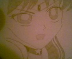 Sailor Mars II by JunieNicole