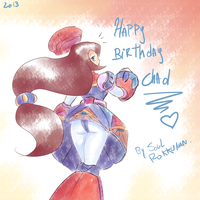 Happy B-day Chad! by Soul-Rokkuman