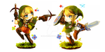 Linkle vs Link by ichi-neese