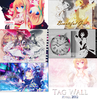 Tag Wall Signatures Avril 2012 by YoruNishii
