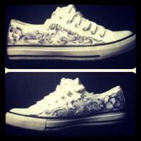 Japanese Shoes by P-O-R-K-Y