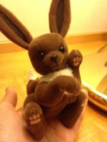 Eevee Plush Finished by deeed