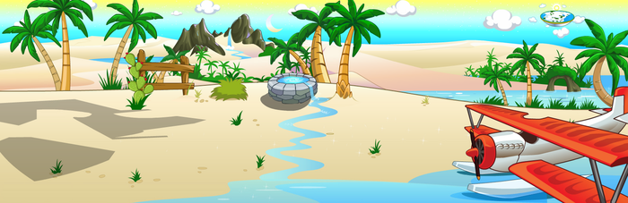(F2U) Fantage Oasis 2014 Background by Fario-P