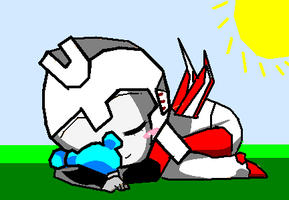 Sleeping baby ramjet! by hotshotgirl