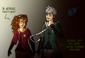 Quidditch Game by cutubulla