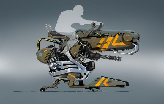 concept hover bike by Asahisuperdry