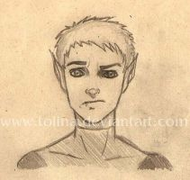 Beast Boy Sketch by Tolina