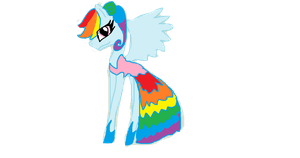 Rainbow Dress by NILETATEGAMI2001