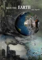 poster of earth day by menna19