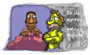 Lenny and Carl by DragonKick