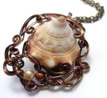 The Sea Gives Necklace by sojourncuriosities
