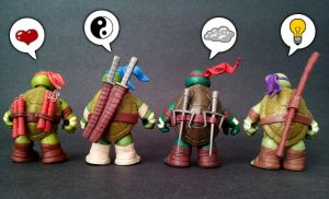 TMNT SD 2012 - Pondering by 0PT1C5