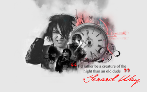 Gerard Way wallpaper 002 by saygreenday