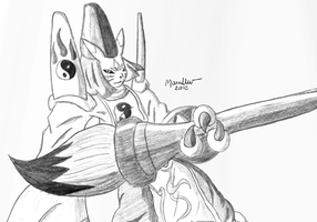 Traditional Taomon by MarcellenNeppel