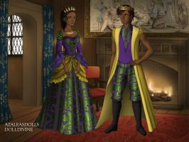 The King and Queen of Mardi Gras by EriksAngelOfMusic22