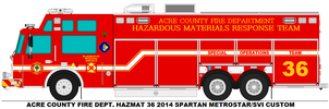 Acre County Fire Dept. Hazmat 36 by MisterPSYCHOPATH3001