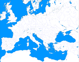 Map of Blank Europe: Gigantor by zalezsky