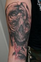 another freehand skulthing by graynd