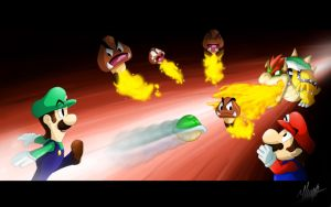 Bowser Endless Battle by Hugo-H2P