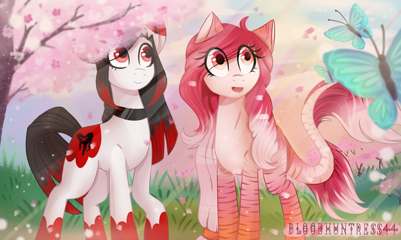 Spring Fields (contest entry) by Bloodhuntress44