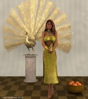 Oshun, Queen of the River by Shango-ThunderStones