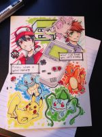 Kanto Memories | Pokemon by LaniKiryu666