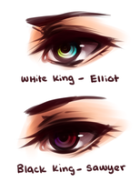 Kings Eyes by whispwill